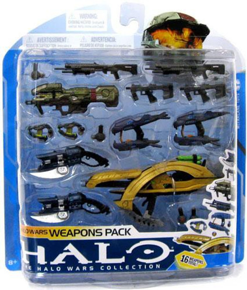 McFarlane Toys Halo 3 Series 7 Halo Wars Weapons Pack Exclusive