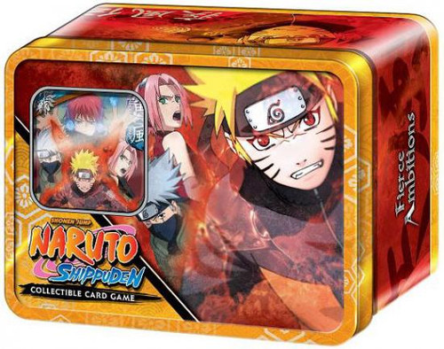 Shippuden Card Game Fierce Ambitions Naruto Save Gaara Collector Tin