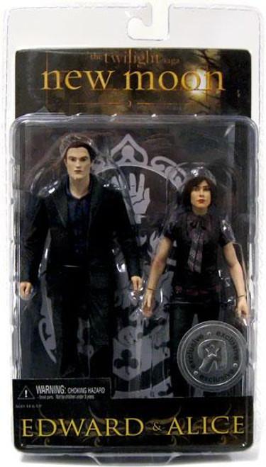 NECA Twilight New Moon Edward & Alice Action Figures