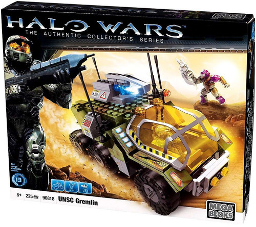 Mega Bloks Halo The Authentic Collector's Series UNSC Gremlin Set #96818