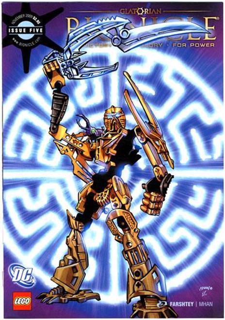 LEGO Bionicle Glatorian Comic Book #5