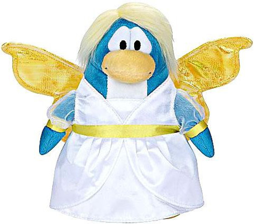 Club Penguin Series 5 Snow Fairy 6.5-Inch Plush Figure [Holiday]