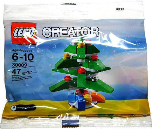 LEGO Creator 2009 Christmas Tree Mini Set #30009 [Bagged]