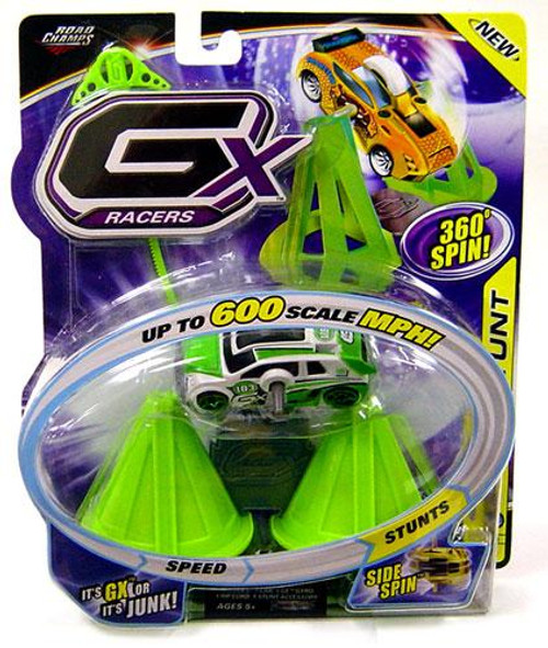 GX Racers Stunts Series 3 Speed Warrior Plastic Car [Side Spin Gyro]