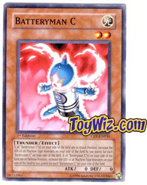 YuGiOh Cybernetic Revolution Common Batteryman C CRV-EN030