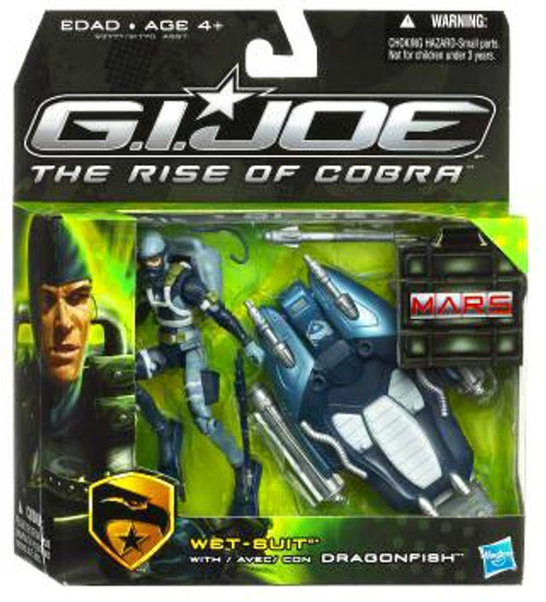 GI Joe The Rise of Cobra MARS Troopers Wet-Suit Exclusive Action Figure