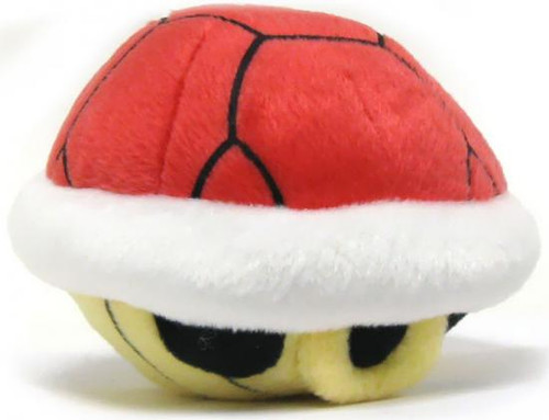 Super Mario Mario Kart Wii Volume 2 Red Turtle Shell Plush