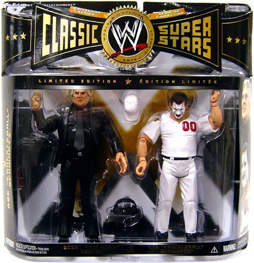 WWE Wrestling Classic Superstars Limited Editions Bobby Heenan & Abe Schwartz Action Figure 2-Pack