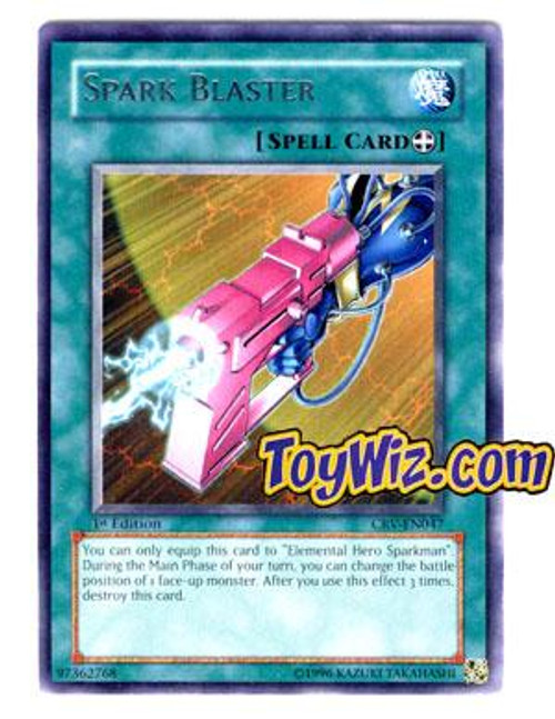 YuGiOh Cybernetic Revolution Rare Spark Blaster CRV-EN047