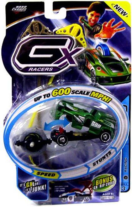 GX Racers Speed Series 4 Raw Power Plastic Car [Racing Gyro]