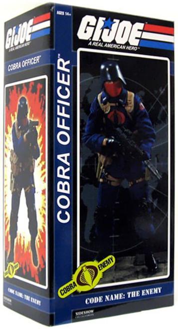 GI Joe Cobra Enemy Cobra Officer 1/6 Collectible Figure