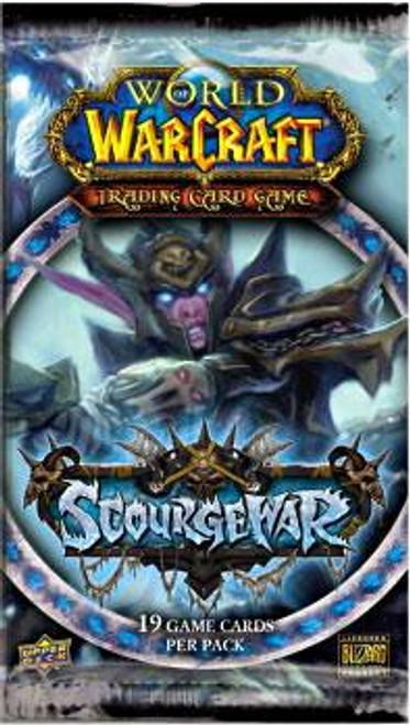 World of Warcraft Trading Card Game Scourgewar Booster Pack