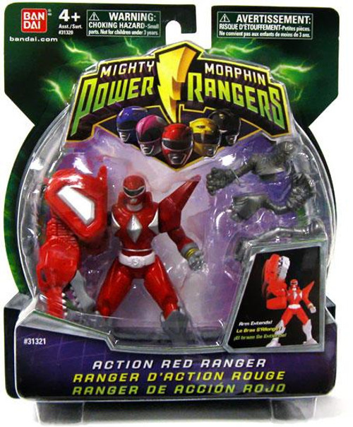 Power Rangers Mighty Morphin Action Red Ranger Action Figure