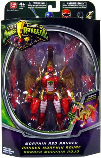 Power Rangers Mighty Morphin Morphin Red Ranger Action Figure