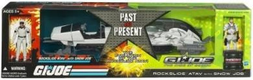 GI Joe The Rise of Cobra Rockslide A.T.A.V. Exclusive Action Figure Vehicle [Past & Present]