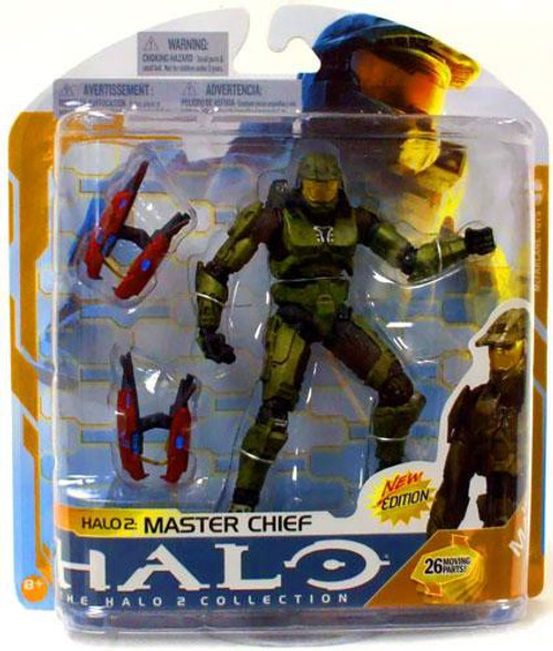 McFarlane Toys Series 8 Halo 2 Master Chief Action Figure