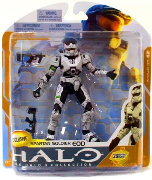 McFarlane Toys Halo 3 Series 8 Spartan Soldier EOD Exclusive Action Figure [White]