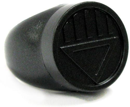 Green Lantern Blackest Night Black Lantern Ring Prop Replica