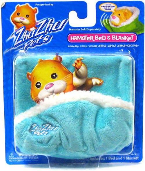 Zhu Zhu Pets Hamster Bed & Blanket Accessory Set [Turquoise]