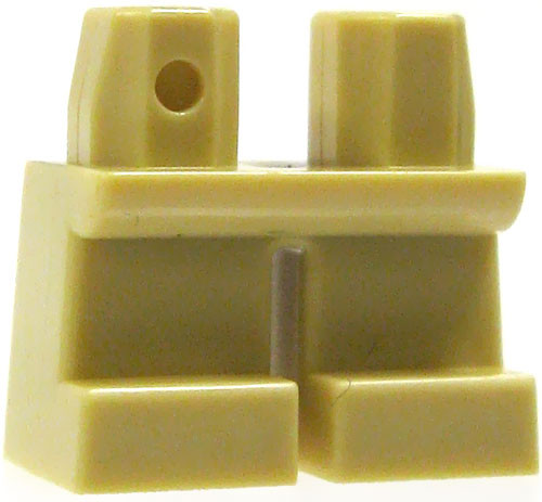 LEGO Minifigure Parts Short Tan Loose Legs [Loose]