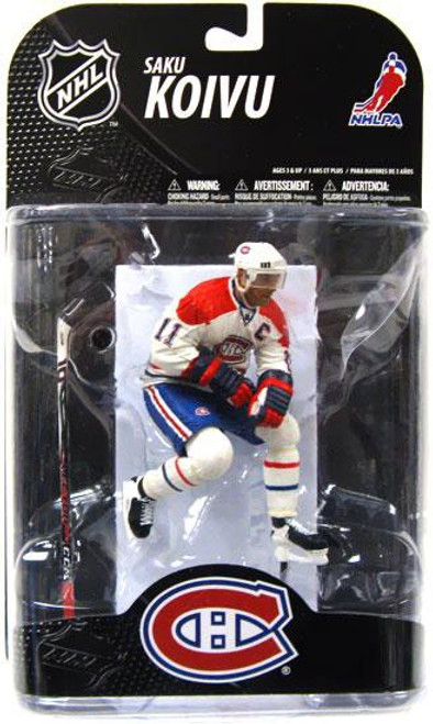 McFarlane Toys NHL Montreal Canadiens Sports Picks Exclusive Saku Koivu Exclusive Action Figure [Damaged Package, Mint Contents!]