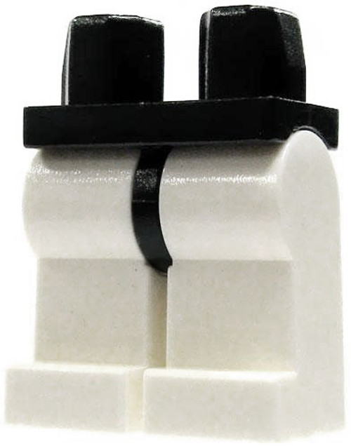 LEGO Star Wars Minifigure Parts Black Hips with White Legs Loose Legs [Loose]