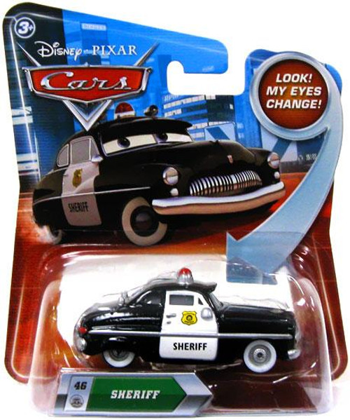 Disney Cars Lenticular Eyes Series 2 Sheriff Diecast Car
