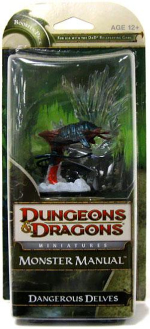 Dungeons & Dragons Miniatures Monster Manual Dangerous Delves Booster Pack