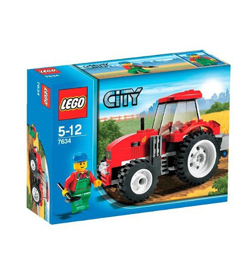 LEGO Tractor Farm City Set #7634