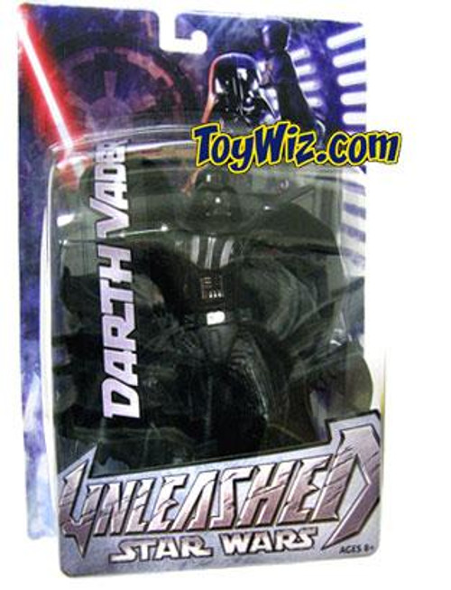 Star Wars Revenge of the Sith Unleashed Series 2 Darth Vader Action Figure