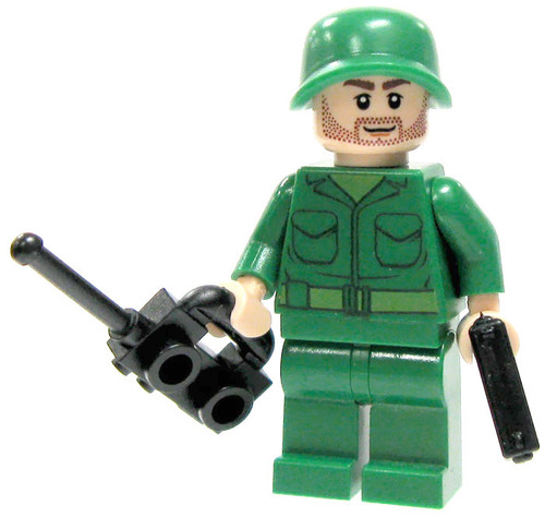 LEGO Custom Loose U.S. Sergeant Minifigure [Loose]