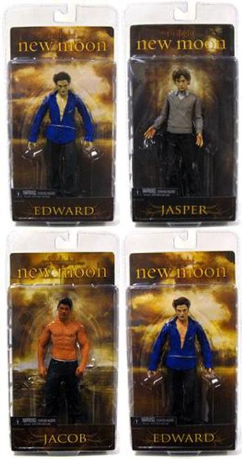 NECA Twilight New Moon Series 2 Set of 4 Action Figures