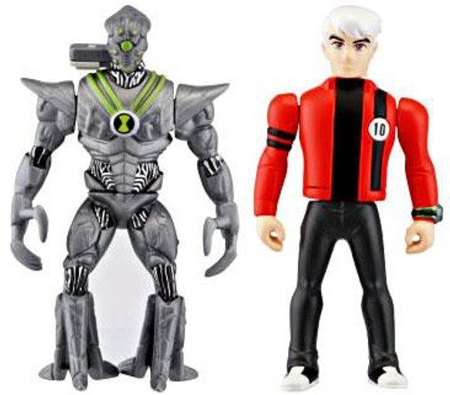Ben 10 Alien Force Alien Creation Chamber Nanomech & Albedo Mini Figure 2-Pack