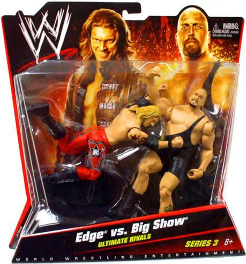 WWE Wrestling Series 3 Edge & Big Show Action Figure 2-Pack