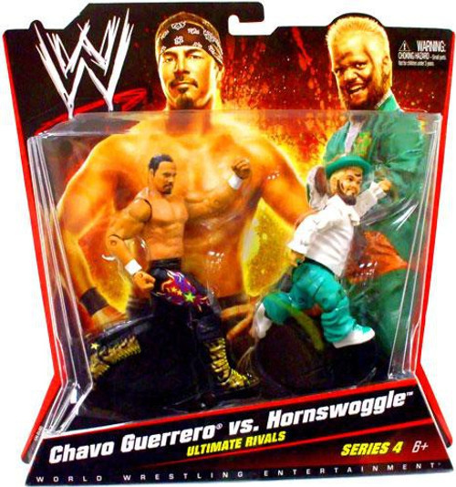 WWE Wrestling Series 4 Chavo Guerrero & Hornswoggle Action Figure 2-Pack