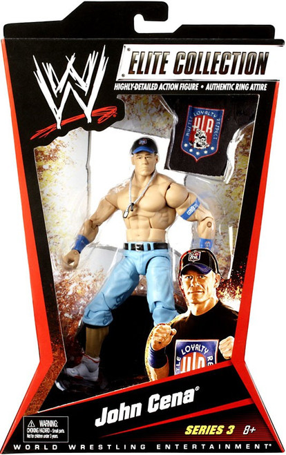 WWE Wrestling Elite Series 3 John Cena Action Figure