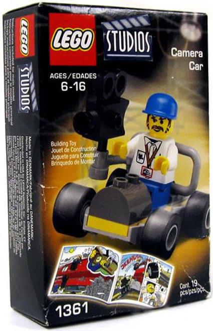 LEGO Studios Camera Car Set #1361
