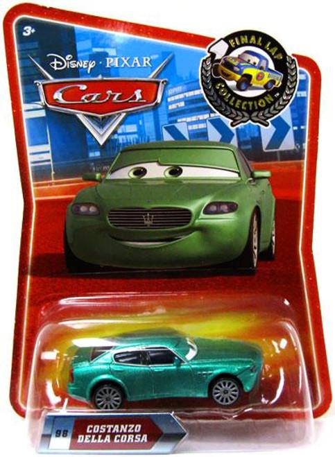 Disney Cars Final Lap Collection Costanzo Della Corsa Exclusive Diecast Car