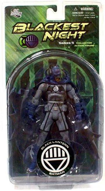 DC Green Lantern Blackest Night Series 5 Black Lantern Batman Action Figure
