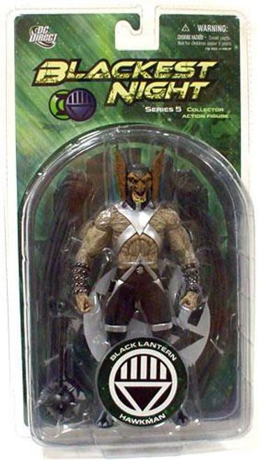 DC Green Lantern Blackest Night Series 5 Black Lantern Hawkman Action Figure
