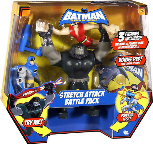 Batman The Brave and the Bold Stretch Attack Battle Pack Mini Figure Set