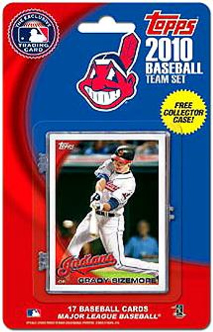 MLB 2010 Topps Baseball Cards Cleveland Indians Exclusive Team Set