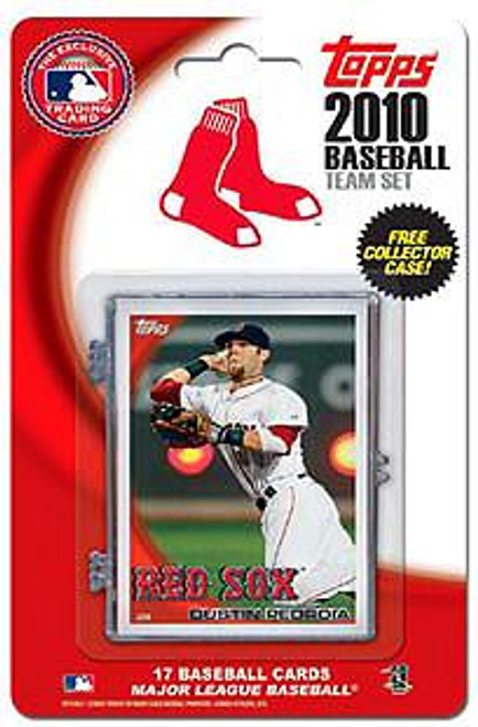 MLB 2010 Topps Baseball Cards Boston Red Sox Exclusive Team Set