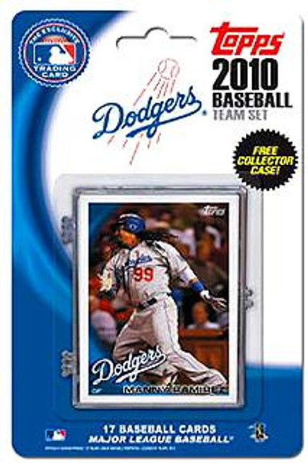 MLB 2010 Topps Baseball Cards Los Angeles Dodgers Exclusive Team Set