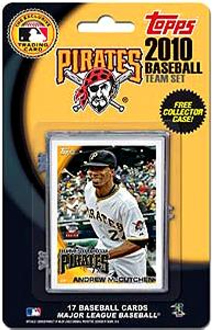MLB 2010 Topps Baseball Cards Pittsburgh Pirates Exclusive Team Set