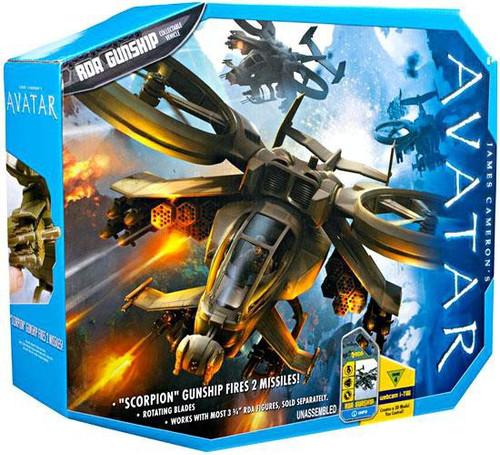 James Cameron's Avatar Combat Vehicle RDA Gunship Action Figure Set [Scorpion Chopper]