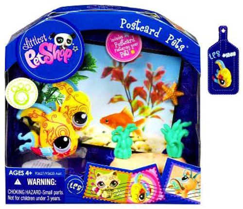 Littlest Pet Shop Postcard Pets Series 3 Angelfish Figure