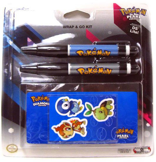 Pokemon Diamond & Pearl Nintendo DS Wrap & Go Kit