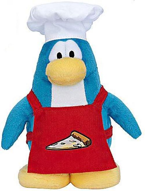 Club Penguin Series 6 Pizza Chef 6.5-Inch Plush Figure [Version 2]
