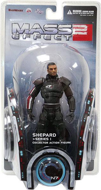 Mass Effect 2 Series 1 Shepard Action Figure
